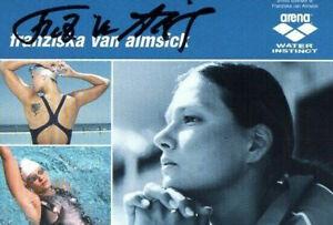 Autogramm - Franziska van Almsick (Schwimmen)