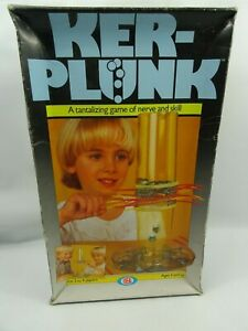 Rare-Box-version-KERPLUNK-By-Ideal-Vintage-Children-amp-Family-Skill-Game