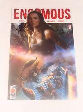 Enormous #1 La Mole Comic Con Scorpion Swarm Mexico Variant  2X Signed Cheggour