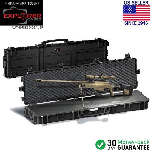 Explorer casos 15416 X-largo rifle francotirador Estuche Impermeable Con Espuma (desierto tan)