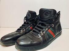 100 Authentic Men Gucci Black Leather