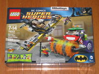 Lego 76013 Dc Comics Super Heroes Batman The Joker Steam Roller
