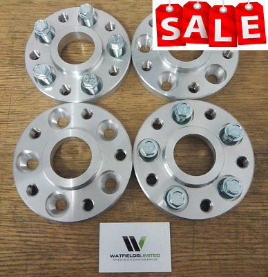 2 PAIR BMW 5 Series 5x120 72.5 Hubcentric wheel spacers 20mm Wide 20 wheel bolts