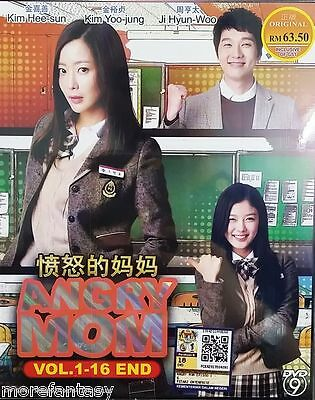 DVD Korean Drama Angry Mom ( Vol. 1-16 End ) English Subtitle + Free Shipping