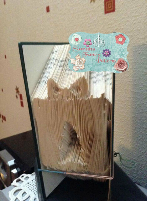 Christmas Tree Gift Folded Book Art Folding Pattern Only 512 Ebay