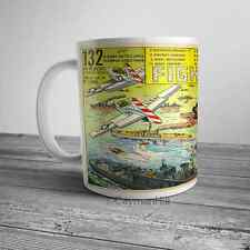 Vintage Comic Ad Fighting Ships Navy Toy Mail Order on NEW Funny Coffee Mug Cup