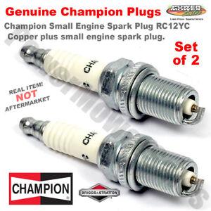 Details about Spark Plug (2 Pack) / Champion Copper Plus RC12YC / Champion  71