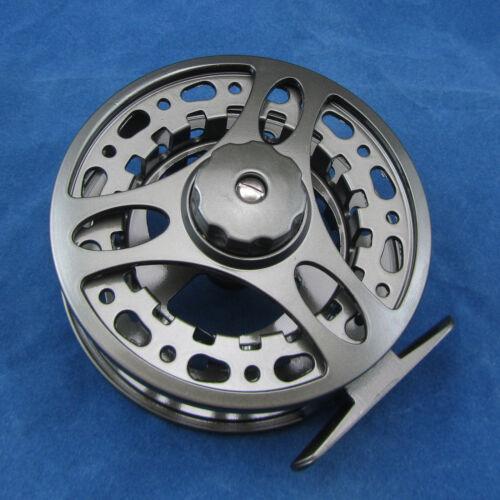 Fly Fishing Reel Aluminum 5//6 7//8 9//10 Adjustable Drag 85mm 95mm 105mm Diameter