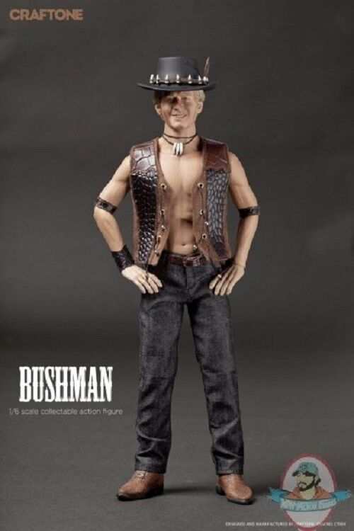 1/6 Sixth Scale Bushman Action Figure by Craftone
