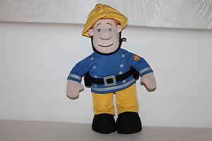 Feuerwehrmann Sam Fireman Spricht Englisch Puppe Stoffpuppe Doll