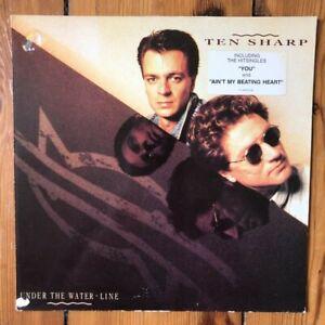 Ten-Sharp-Under-The-Water-Line-12-034-LP-Vinyl-Schallplatte-Album-Record