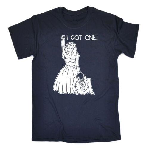 I Got One T-SHIRT Hen Party Night Wedding Joke Engaged Top birthday fashion gift
