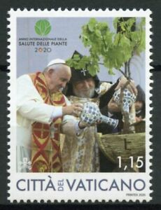 Vatican City Plants Stamps 2020 MNH Intl Yr of Plant Health Pope Francis 1v Set