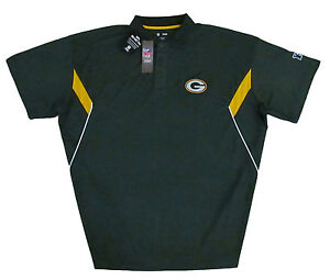 Green-Bay-Packers-NFL-Men-039-s-Team-Conference-Stadium-Big-amp-Tall-Golf-Polo-Shirt