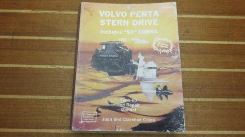 III 1992-1995 SX /& Cobra Stern Drive Repair Manual Seloc 041-1 Volvo Penta Vol