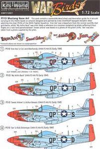 Kits-World-1-72-P51D-Mustang-Art-Sur-Le-Nez-Des-Avions-72001