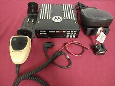 Updated Tuned Motorola Xtl5000 W7 7800mhz P25 Digital Trunking Mobile Radio