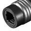 2-x-TOSLINK-optischer-ADAPTER-VERBINDER-Buchse-auf-Buchse-Lichtwellenleiter Indexbild 3