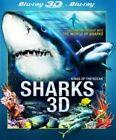 Sharks 3D (DVD, 2013)