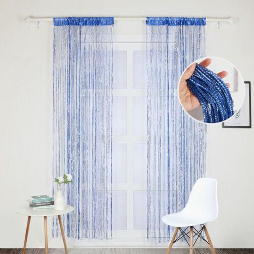 Hanging Beaded Curtain String Door Window Curtains Tassel Fly Screen Panel Hot
