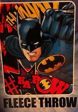 "New Northwest Batman Kids 40"" x 50"" Soft Fleece Throw Blanket DC Comics"