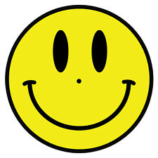 Acid man smiley face DJ / Turntable slipmats - high quality - brand new (PAIR)