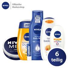 NIVEA Vorteilspack 6tlg. Pflege Produkte für Körper Hand Gesicht Lippen