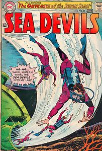 Sea Devils #23 - Outcasts Of The Seven Seas! - (Grade 7.0 ...