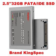"Kingspec 32GB 2.5"" IDE PATA SSD For IBM T40T41T42 DELL D610 D810 HP NC4010"