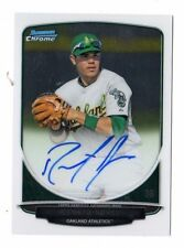 RENATO NUNEZ MLB 2013 BOWMAN CHROME PROSPECT AUTOGRAPHS (OAKLAND ATHLETICS)