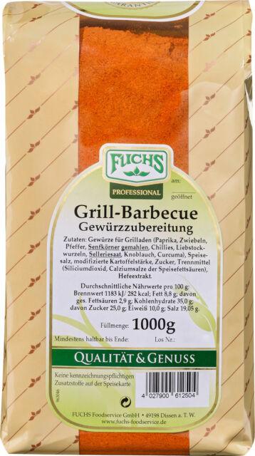 FUCHS Grill-Würzer Barbecue Gewürzmischungen 1000 g 4027900612504