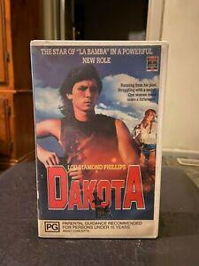 Dakota-Ex-rental-VHS-video-tape-HTF-on-DVD-Lou-Diamond-Phillips-coming-of-age