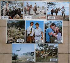 COWBOYS DANS LA BROUSSE 8 photos d'exploitation de film John MILLS Nigel GREEN