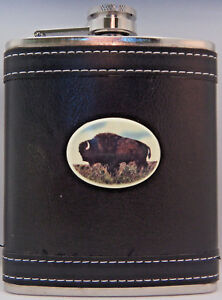 Original I Buffalo Colorado 8 oz Stainless Steel Flask