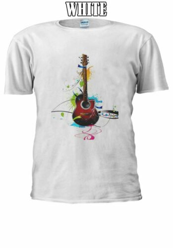 Colorful Classic Guitar Men Women Unisex TShirt T-shirt Vest Baseball Hoodie 610