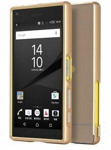 For-Sony-Xperia-Z5-Compact-Mini-Phone-Metal-Aluminum-Bumper-Case-Cover-Hard-Back