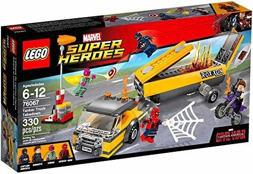 Lego ® 76067 Marvel Super Heros Tanker Truck Takedown Neu OVP new sealed