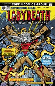 Lady-Death-Secrets-1-034-Cyber-Death-034-Demon-Smasher-Ltd-Ed-90-Comic-Book