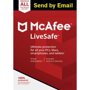 Mcafee-LiveSafe-2020-Unlimited-Devices-1-Year-2019-antivirus-Sent-by-Email