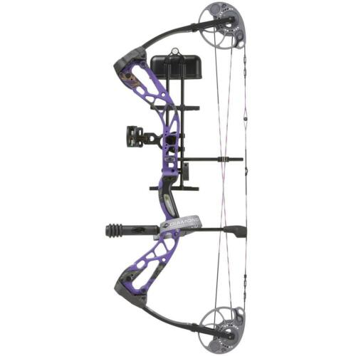 Diamond Edge SB-1 Bow Paquet 70# main droite violet
