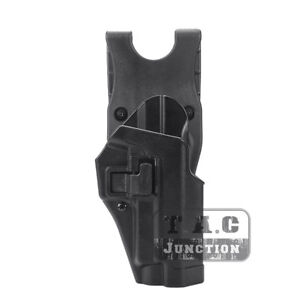 Serpa-CQC-Right-Hand-Waist-Pistol-Holster-w-Jacket-Slot-for-Sig-Sauer-P226-P229