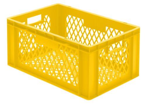 600x400x270mm Wände und Boden durchbrochen Stapelkasten Euro-Box TK600//270-2