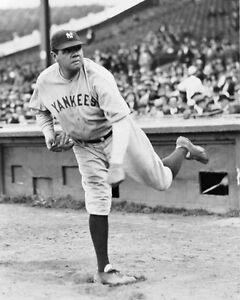 1930-New-York-Yankees-BABE-RUTH-Glossy-8x10-Photo-Baseball-Print-Pitching-Poster
