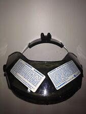 12.5 x10.5 x4 Safety 483000 US Double Matrix Crown with Ratchet Suspension 12.5 x10.5 x4 Smoke U.S