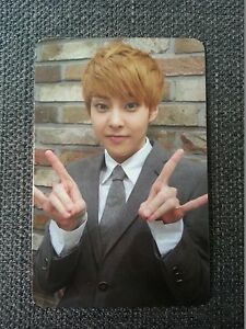 EXO M XIUMIN Official Photo Card 1st Repackage Ver.A Growl ...