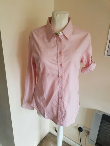 New Size 20 Dock Of The Bay Soft Pink 100/% Cotton Shirt Blouse Long Sleeved