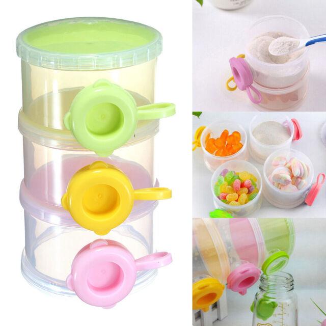 Baby Feeding Milk Powder Food Dispenser Portable Travel Container Bottle Storage