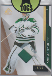 Kari-Lehtonen-2014-15-SP-Game-Used-2-Color-Patch-18-25-Dallas-Stars