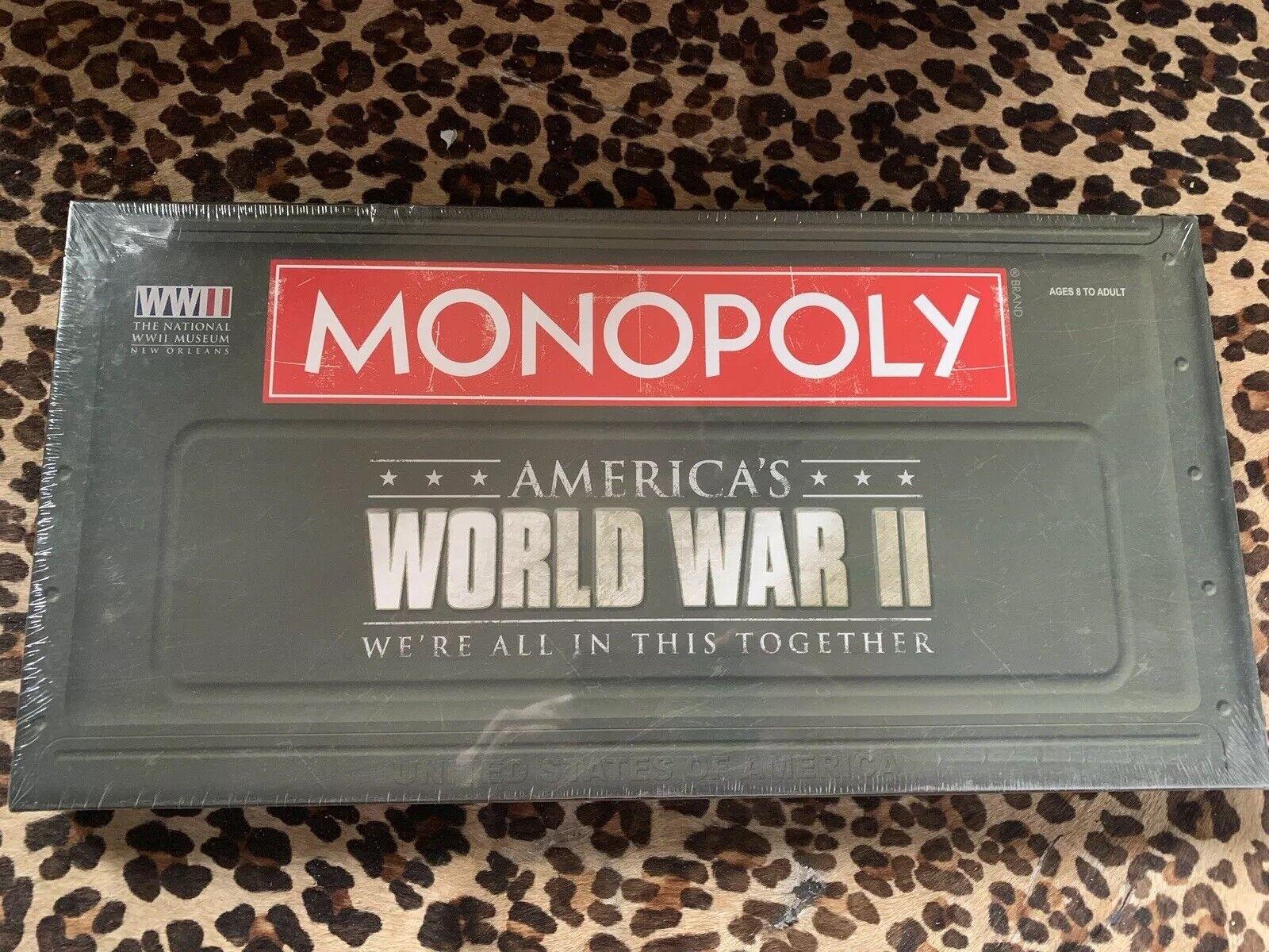 Monopoly seconde guerre mondiale HASBRO Jeu de Plateau-Nous sommes tous dans cet ensemble Scellé