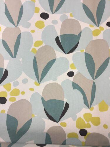 By The Metre Villa Nova Alva Quince Cotton Fabric slight Seconds